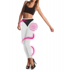 Leggings minceur bicolore