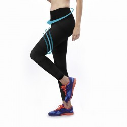Legging running triple action