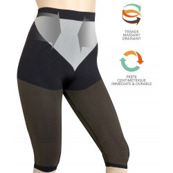 Two-color slimming capris Mincimax